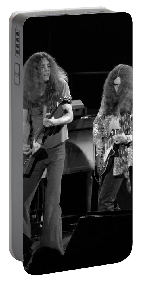 Lynyrd Skynyrd Portable Battery Charger featuring the photograph Ls Spo #21 Crop 4 by Ben Upham