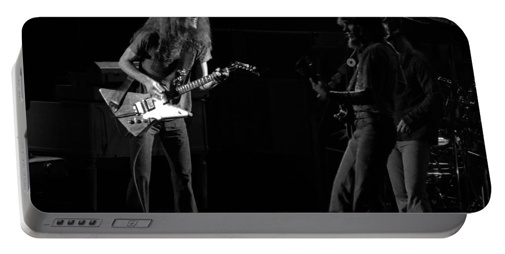 Lynyrd Skynyrd Portable Battery Charger featuring the photograph Ls Spo #23 by Ben Upham