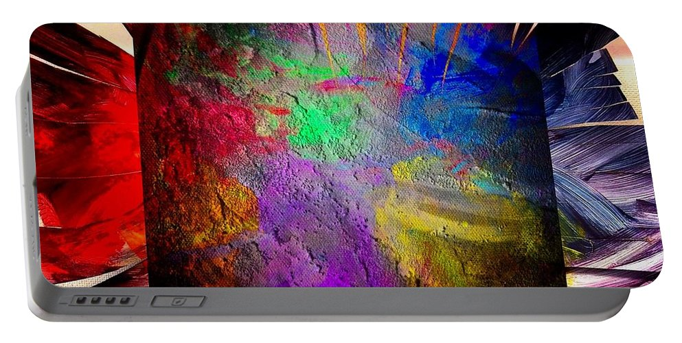 Rainbow Portable Battery Charger featuring the photograph Luminosity by John Duplantis