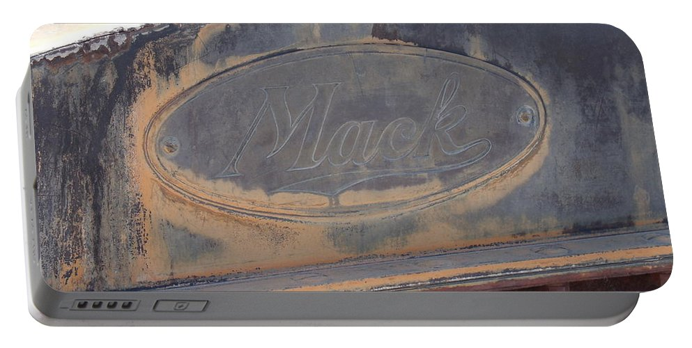 Mack Truck Portable Battery Charger featuring the photograph Mack by David S Reynolds