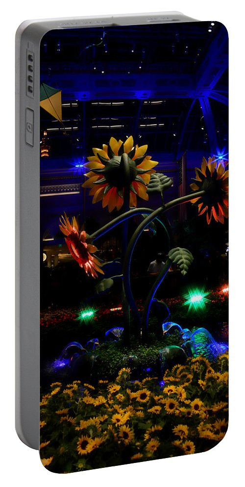 Garden Portable Battery Charger featuring the photograph Magic Garden by Donna Blackhall