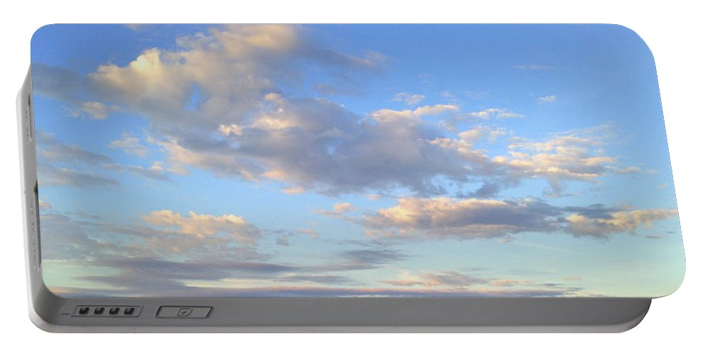 Clouds Portable Battery Charger featuring the photograph Magic by De La Rosa Concert Photography