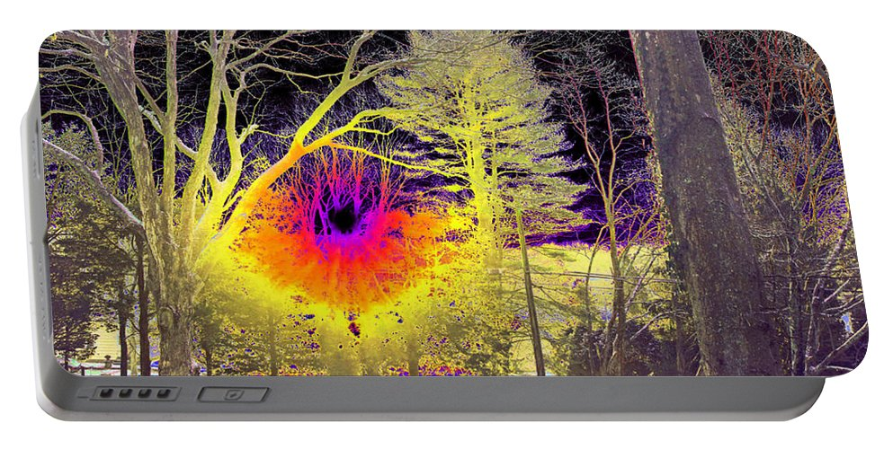 Surreal Portable Battery Charger featuring the photograph Magic Morning by Joe Geraci