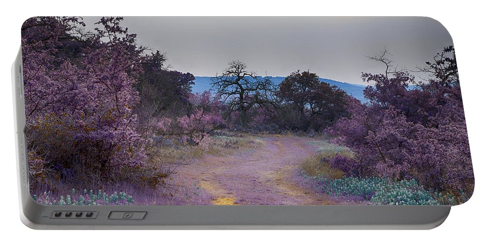 Road Portable Battery Charger featuring the photograph Magical Landscape by Douglas Barnard
