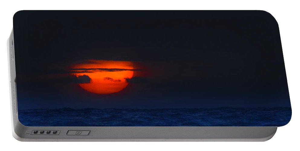 Sunrise Portable Battery Charger featuring the photograph Magical Sunrise by Mark Andrew Thomas