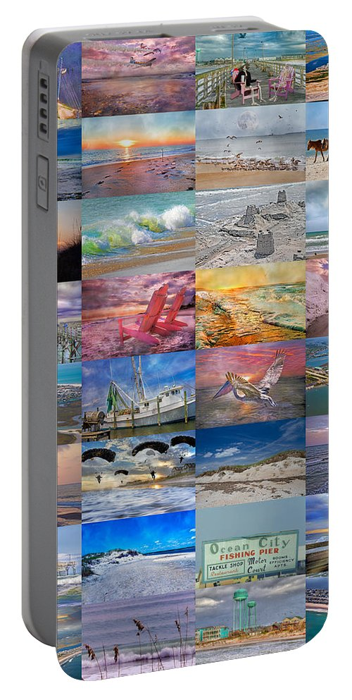 Topsail Portable Battery Charger featuring the photograph Magnificent Coastal North Carolina by Betsy Knapp