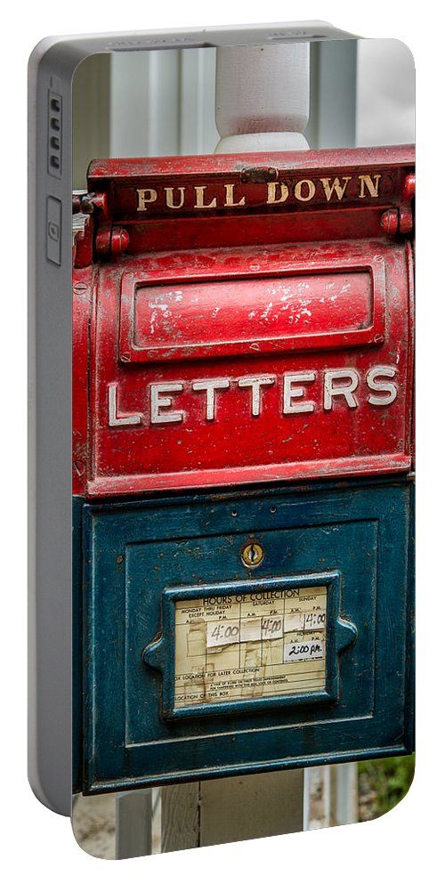 Mail Box Portable Battery Charger featuring the photograph Mail Box by Paul Freidlund