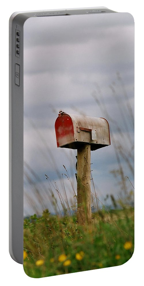 Mail Portable Battery Charger featuring the photograph Mailbox by Michele Wright