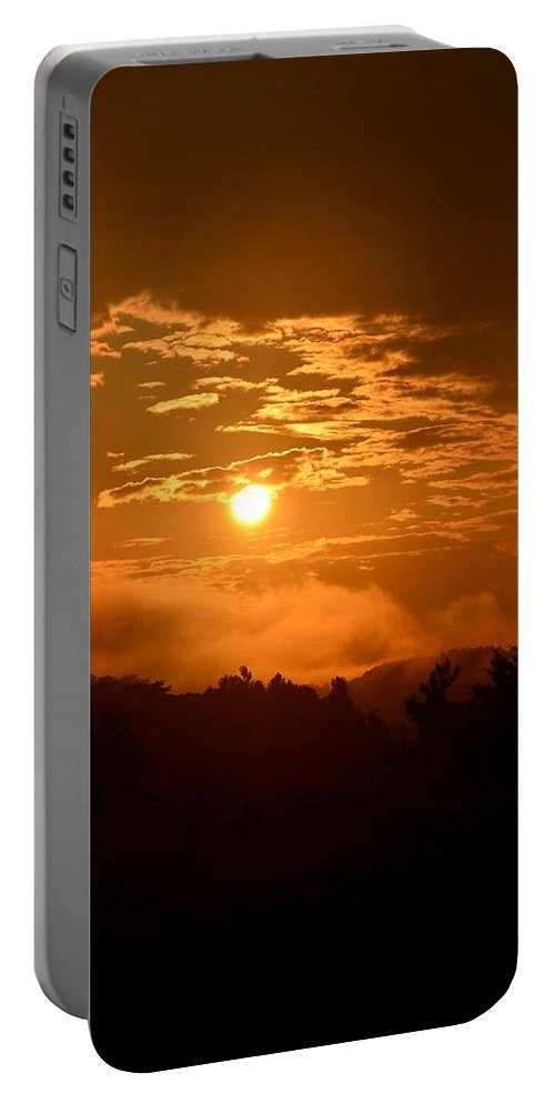 Majestic Is Your Name Portable Battery Charger featuring the photograph Majestic Is Your Name by Maria Urso