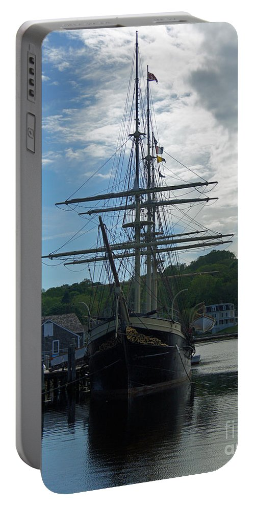 Ship Portable Battery Charger featuring the photograph Majestic by Joe Geraci