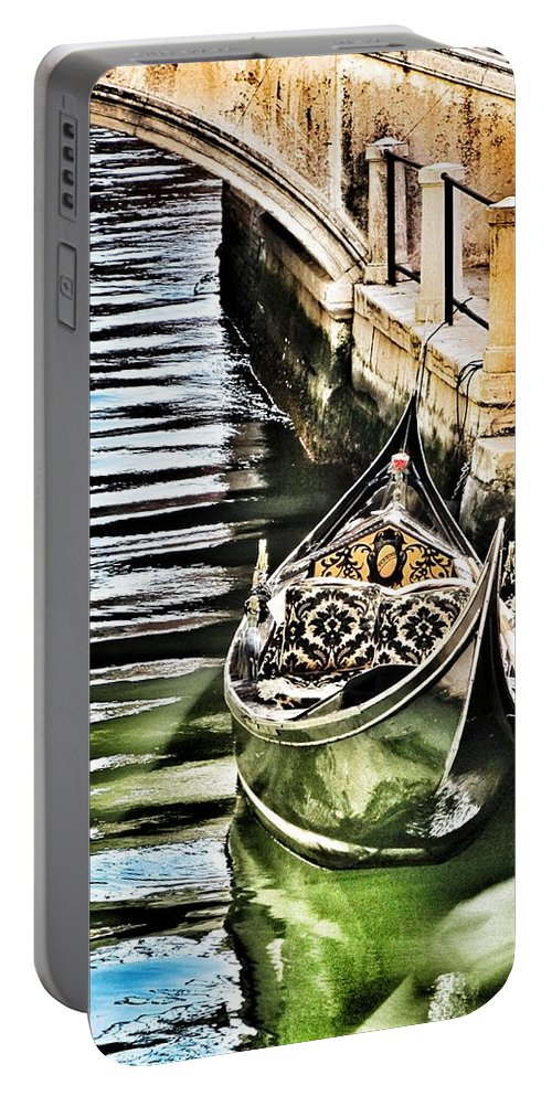 Marina Portable Battery Charger featuring the photograph Marina by Marianna Mills
