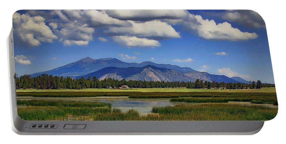 Marshall Lake Portable Battery Charger featuring the photograph Marshall Lake by Priscilla Burgers