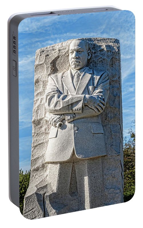 Photography Portable Battery Charger featuring the photograph Martin Luther King Jr. Memorial At West by Panoramic Images