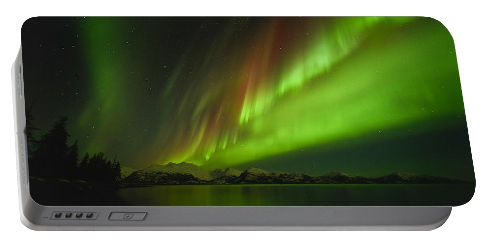 Aurora Portable Battery Charger featuring the photograph Marvel by Ted Raynor