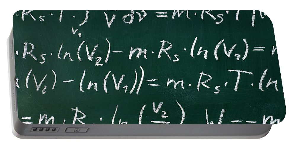 Mathematics Portable Battery Charger featuring the photograph Mathematics by Chevy Fleet