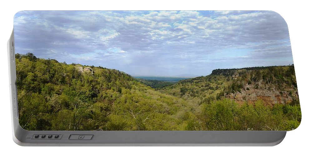 Mather Lodge Portable Battery Charger featuring the photograph Mather Lodge Views by Deanna Cagle