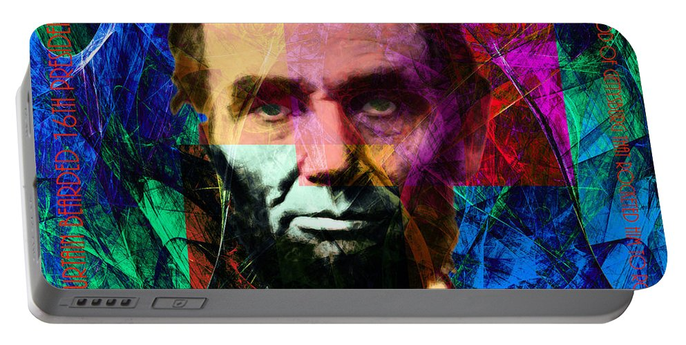Celebrity Portable Battery Charger featuring the photograph Mc Abe The Broham Lincoln 20140217p180 by Wingsdomain Art and Photography