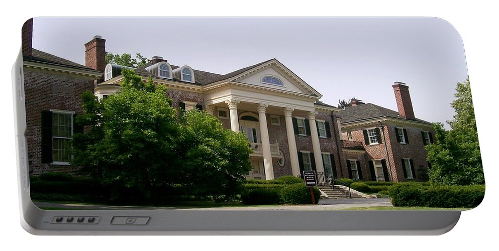 Robert R. Mccormick Museum Portable Battery Charger featuring the photograph Mccormick Mansion by Laurie Eve Loftin
