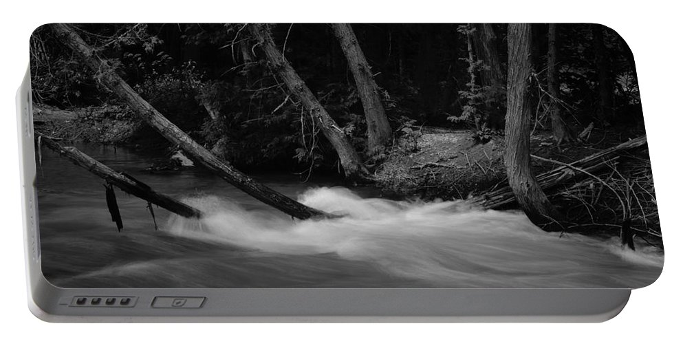 Mcdonald River Portable Battery Charger featuring the photograph Mcdonald River  #1983 by J L Woody Wooden