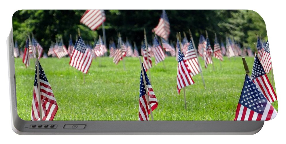 Memorial Day Portable Battery Charger featuring the photograph Memorial Day by Ed Weidman