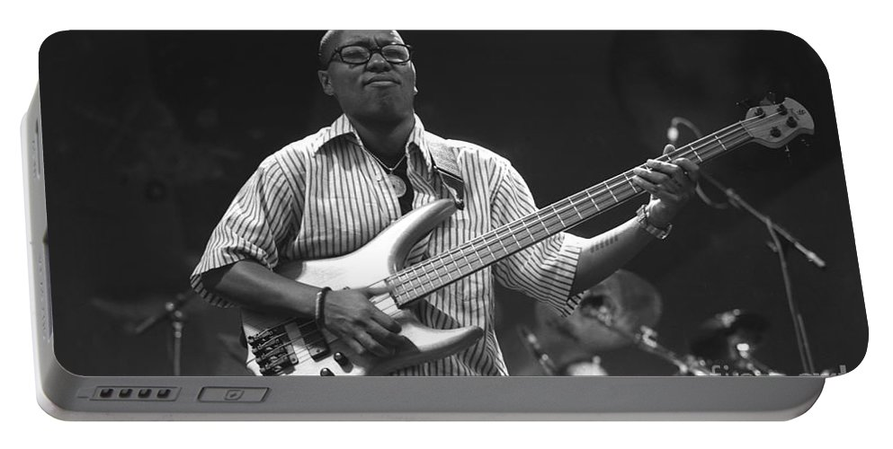 Singer Portable Battery Charger featuring the photograph Meshell Ndegeocell by Concert Photos