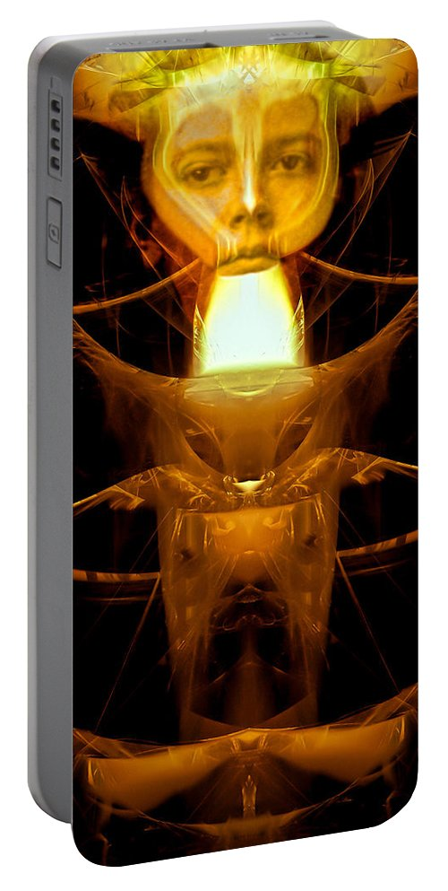 Metamorphosis Portable Battery Charger featuring the photograph Metamorphosis by Bob Orsillo