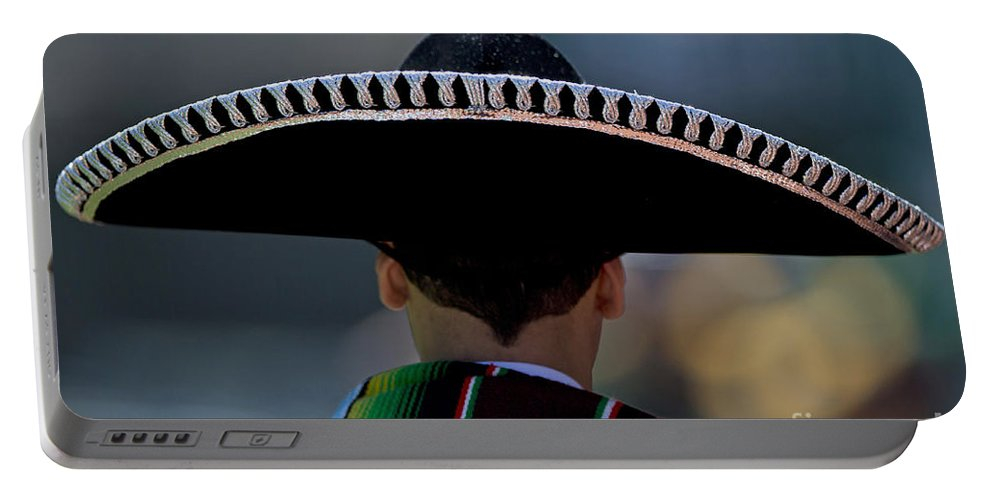 Mexican Portable Battery Charger featuring the photograph Mexican Folk Dancers by Jason O Watson