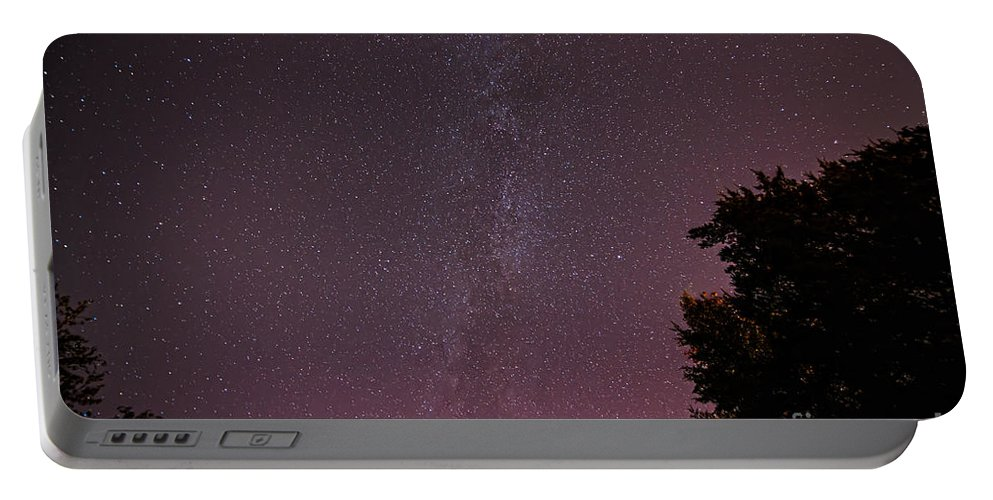 Landscape Portable Battery Charger featuring the photograph Milky Way In Nj by Michael Ver Sprill