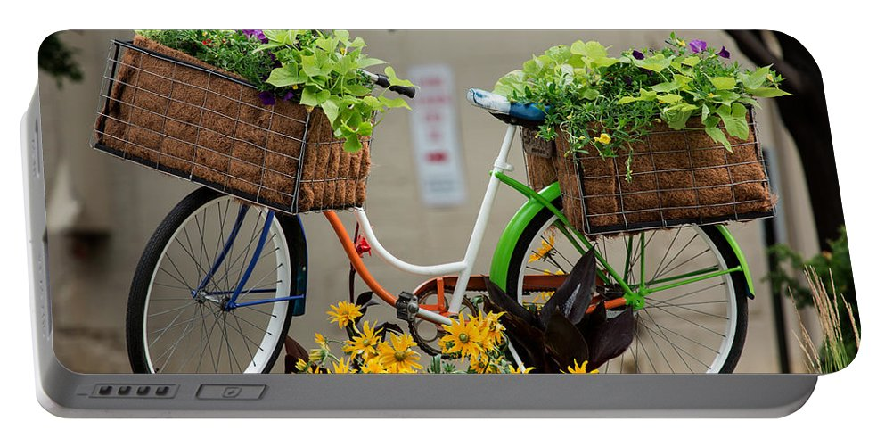Bike Portable Battery Charger featuring the photograph Milwaukee Summer by John Daly