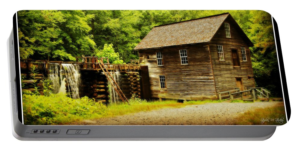 Mingus Mill Portable Battery Charger featuring the photograph Mingus Mill -- Poster by Stephen Stookey