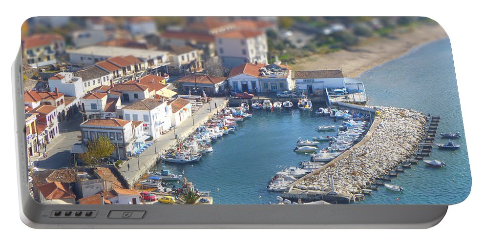 Miniature Portable Battery Charger featuring the photograph Miniature Port by Vicki Spindler