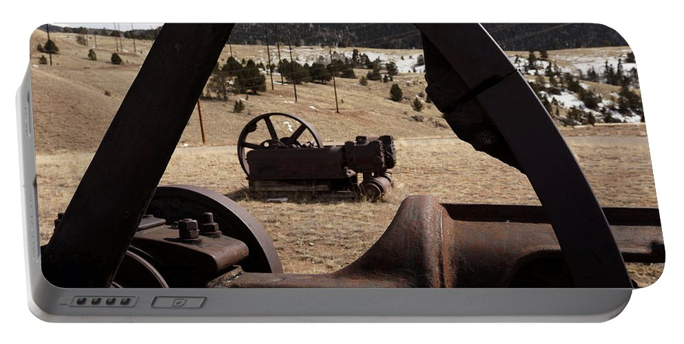 Mining Equipment Portable Battery Charger featuring the photograph Mining Equipment by Ernie Echols