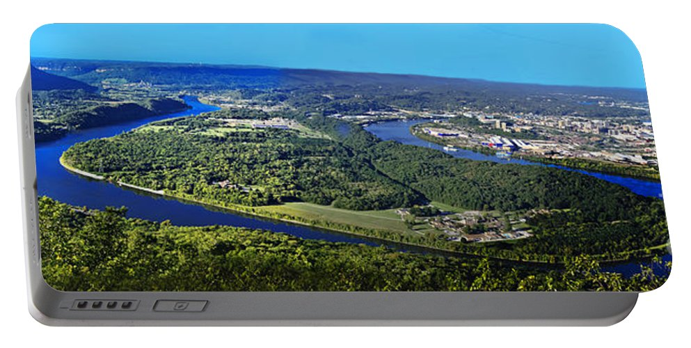 Travel Portable Battery Charger featuring the photograph Moccasin Bend by Elvis Vaughn