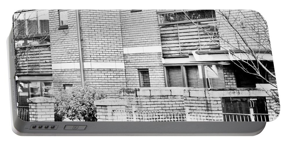 Apartments Portable Battery Charger featuring the photograph Modern Apartments by Tom Gowanlock