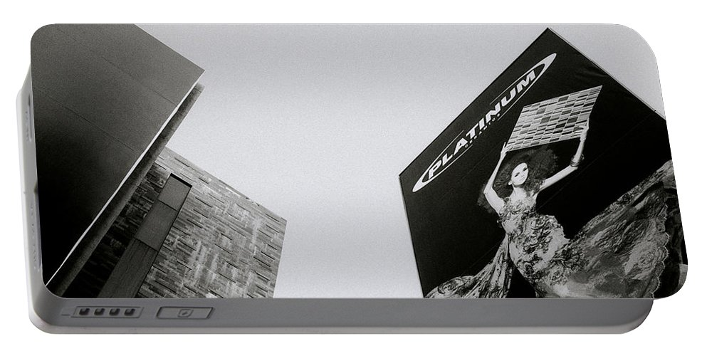 Woman Portable Battery Charger featuring the photograph Modern Urban by Shaun Higson