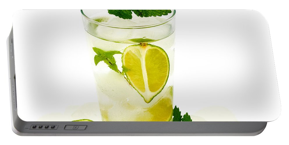 Alcohol Portable Battery Charger featuring the photograph Mojito by TouTouke A Y