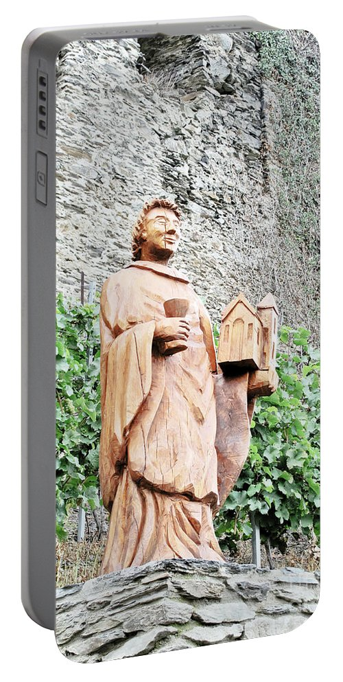 Travel Portable Battery Charger featuring the photograph Monk Of St Goar by Elvis Vaughn