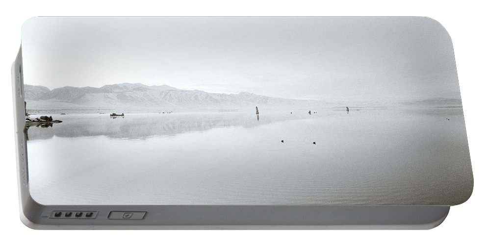 Inspiration Portable Battery Charger featuring the photograph Mono Lake Serenity by Shaun Higson