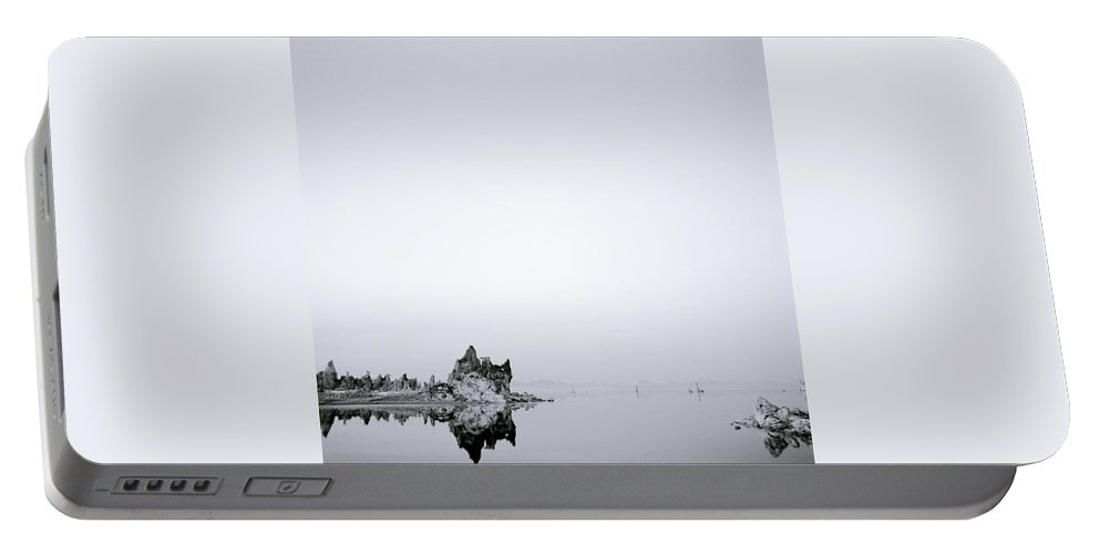 Mono Lake Portable Battery Charger featuring the photograph Still Waters Run Deep by Shaun Higson