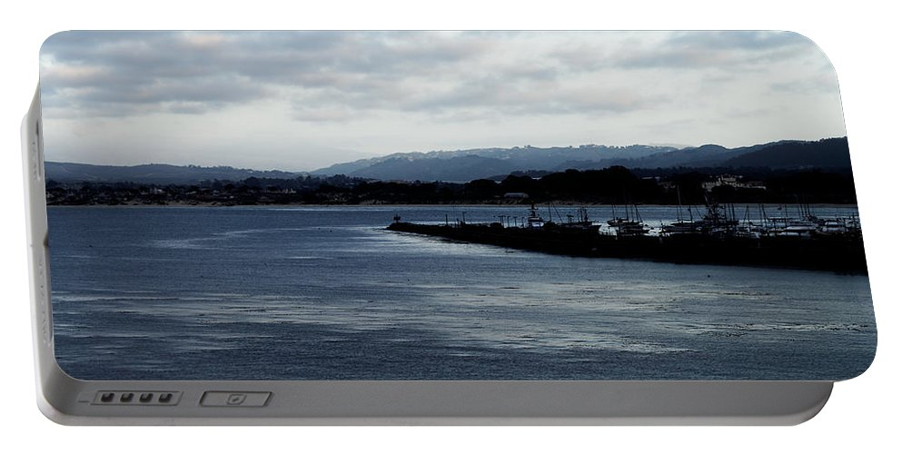 Monterey Bay Portable Battery Charger featuring the photograph Monterey Bay by Scott Hill