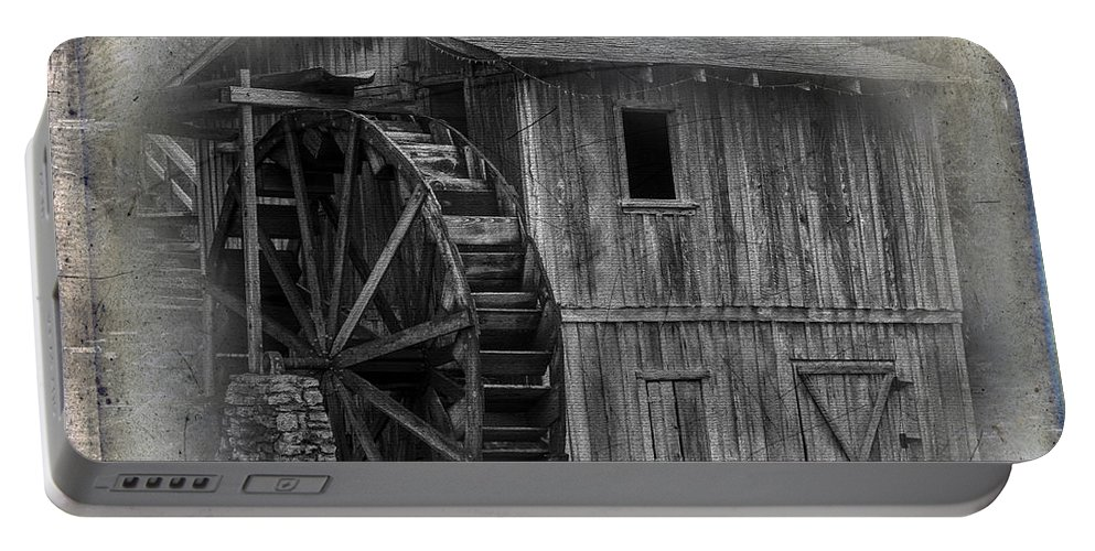 Morgan's Mill Portable Battery Charger featuring the photograph Morgan's Mill by Paul Freidlund
