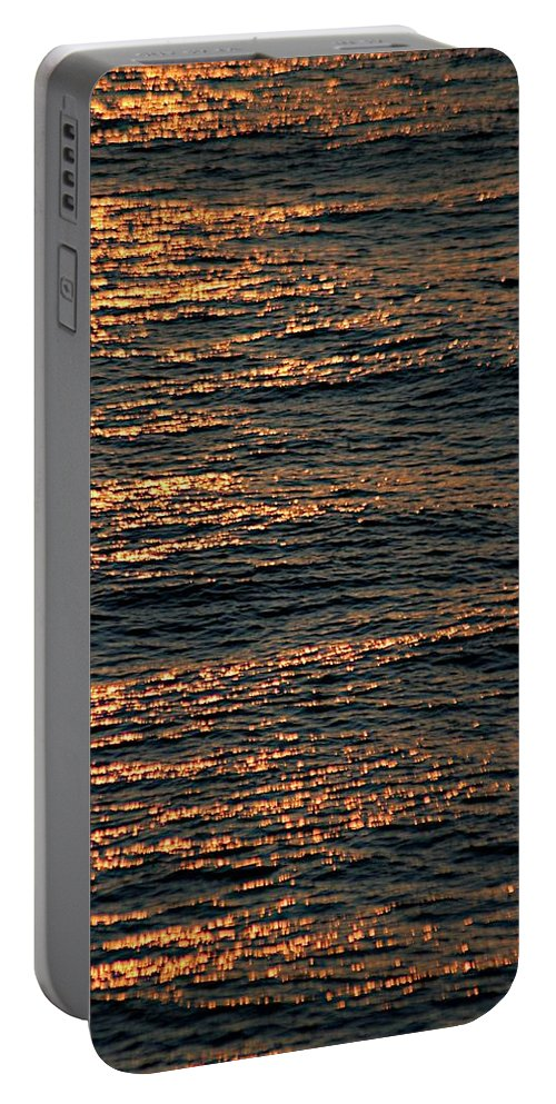 Adriatic Sea Portable Battery Charger featuring the photograph Morning Becomes by Joseph Yarbrough