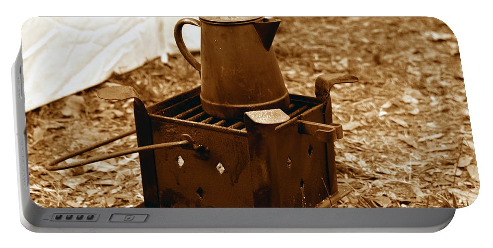 Coffee Portable Battery Charger featuring the photograph Morning Brew by David Lee Thompson