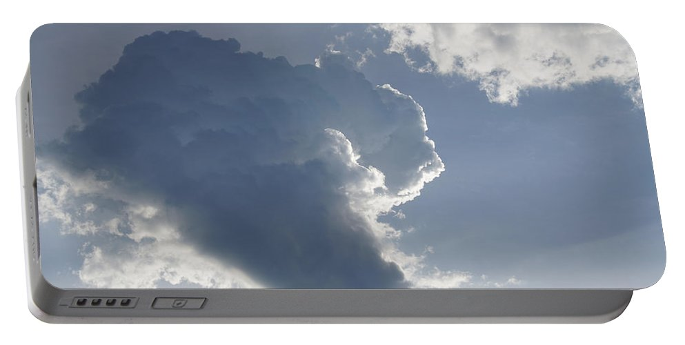 Cumulus Portable Battery Charger featuring the photograph Morning Cumulus by Mick Anderson