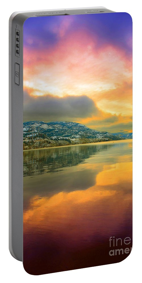 Light Portable Battery Charger featuring the photograph Morning Entrance by Tara Turner
