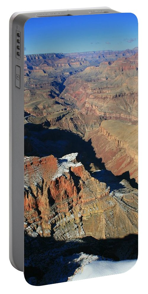 Canyon Portable Battery Charger featuring the photograph Morning In The Canyon by Susan McMenamin