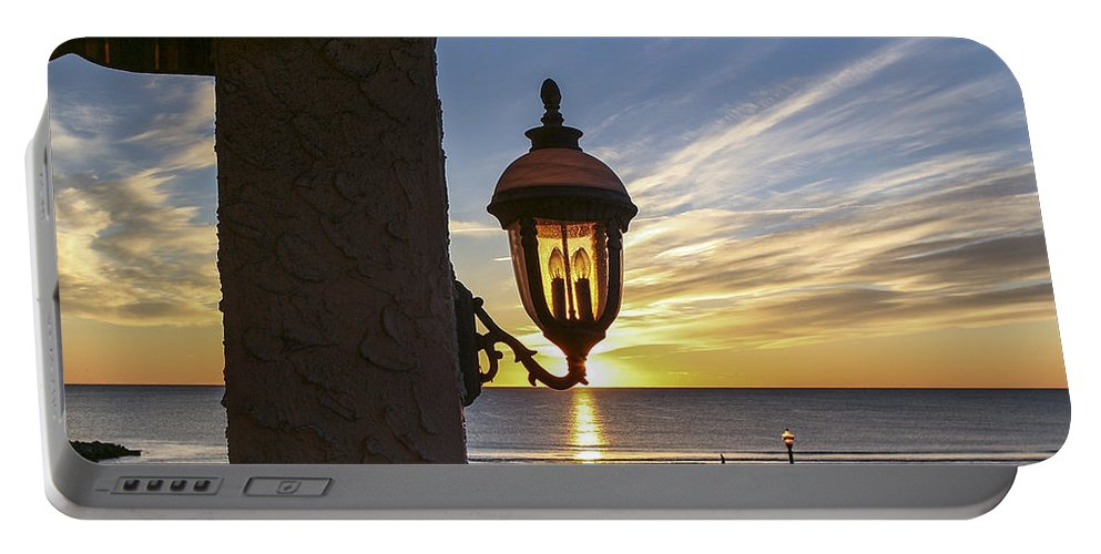 Ocean Grove Nj Portable Battery Charger featuring the photograph Morning Light by Eric Swan