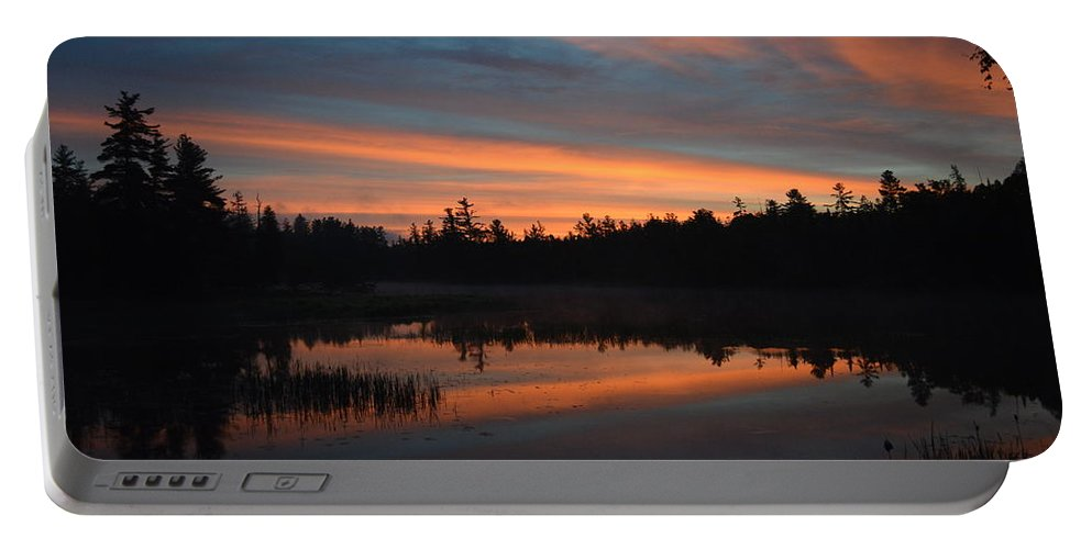 Sunrise Portable Battery Charger featuring the photograph Morning Splendor by Thomas Phillips