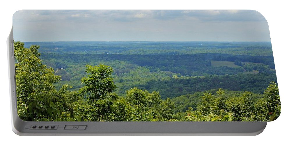 Morrow Mountain Portable Battery Charger featuring the photograph Morrow Mountain by Cynthia Guinn