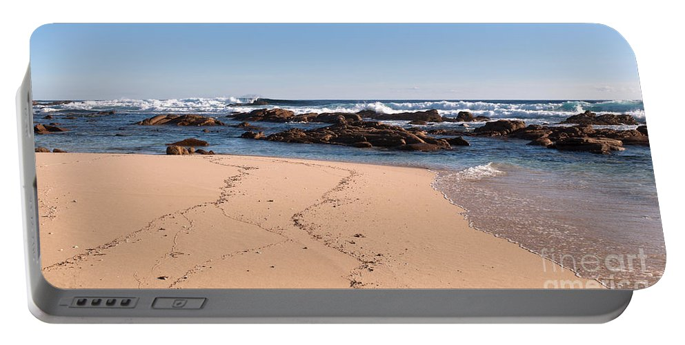 Australia Portable Battery Charger featuring the photograph Moses Rock Beach 02 by Rick Piper Photography